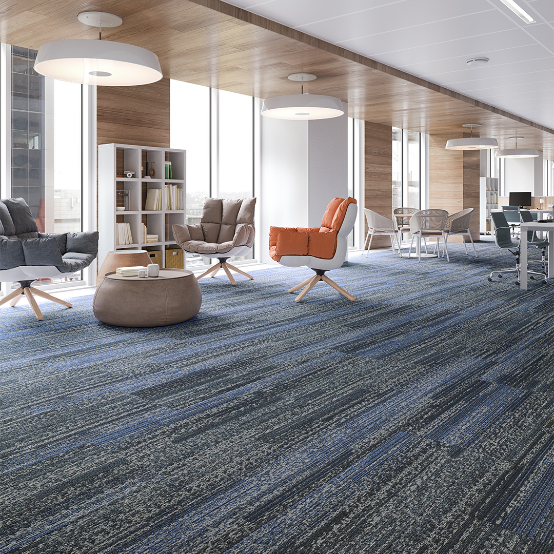 Mannington Commercial Modular Carpet Tiles workplace room scene