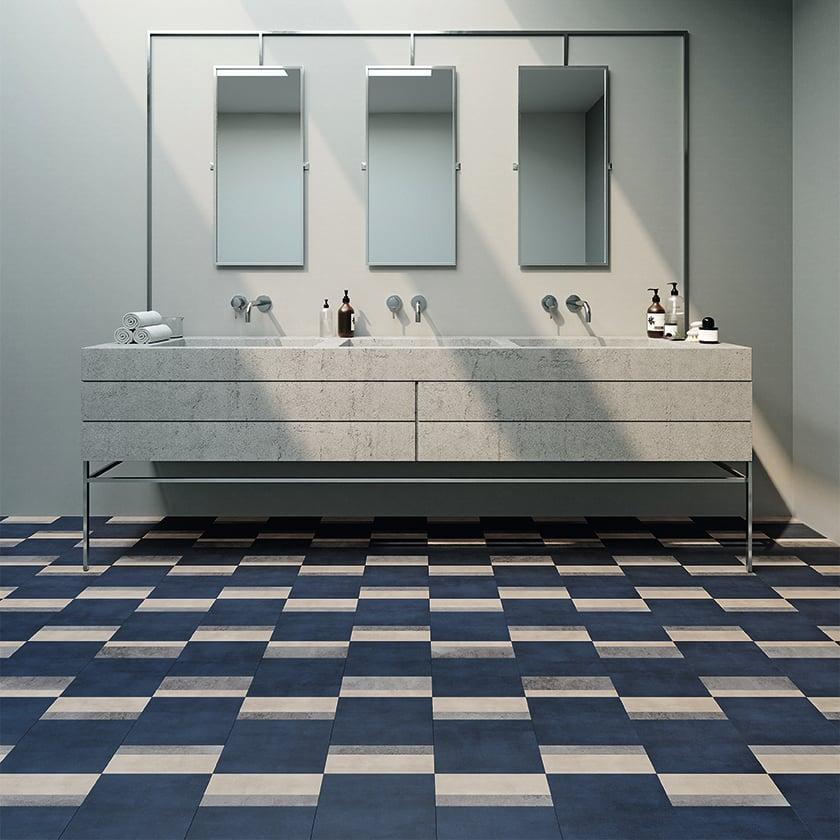 AmticoSignatureAbstract_StuccoPutty_AR0AUC30_StuccoIndigo_AR0AUC91_Stone_TempusPause_AR0STE37_RS_Restroom