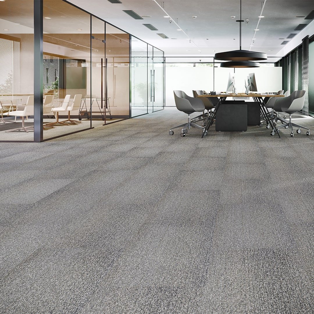 Automata Room Scene workplace design image with commercial carpet tile