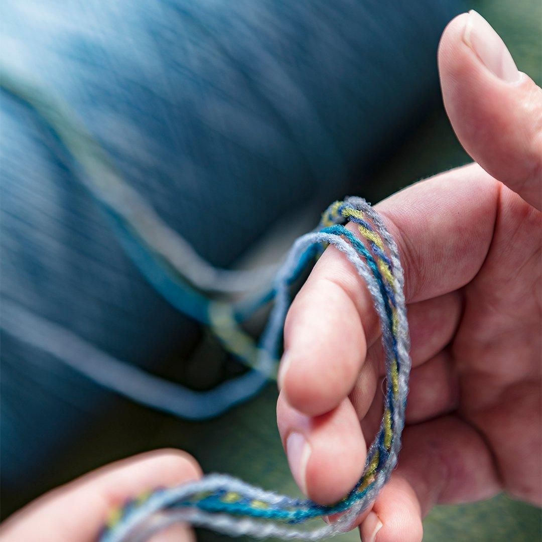 Econyl Yarn With Hand