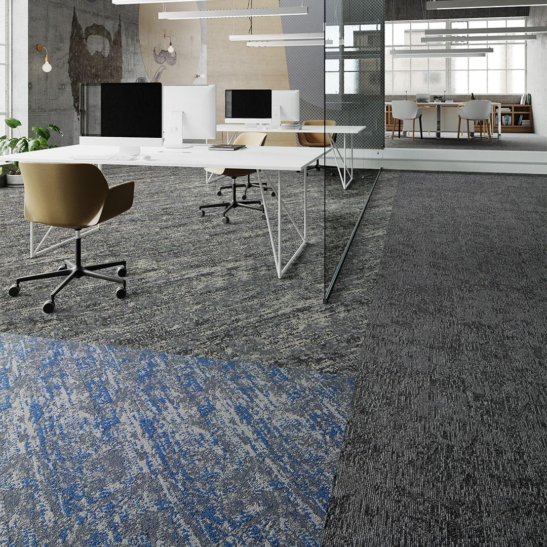 Mannington Spin Modular Carpet Tiles
