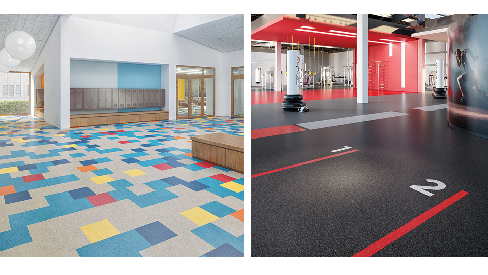 Education Spaces Flooring- rubber-sheet
